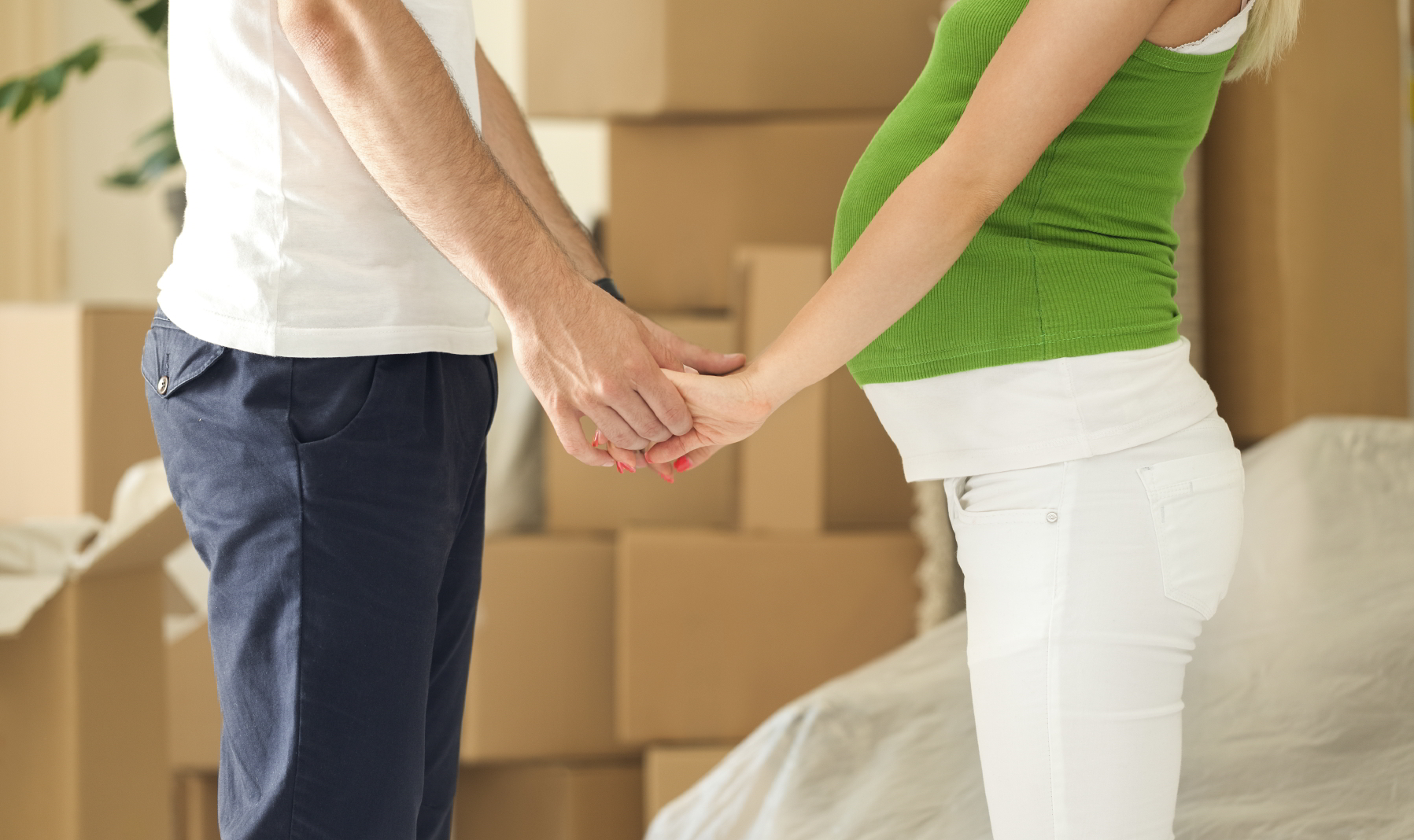 3. trimester - Flytning sidst i graviditeten