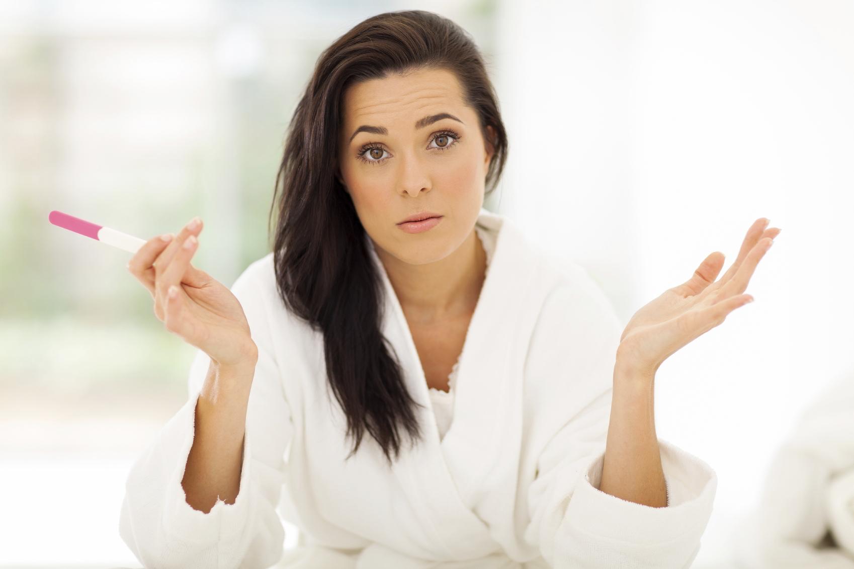 Negativ graviditetstest men ømme bryster