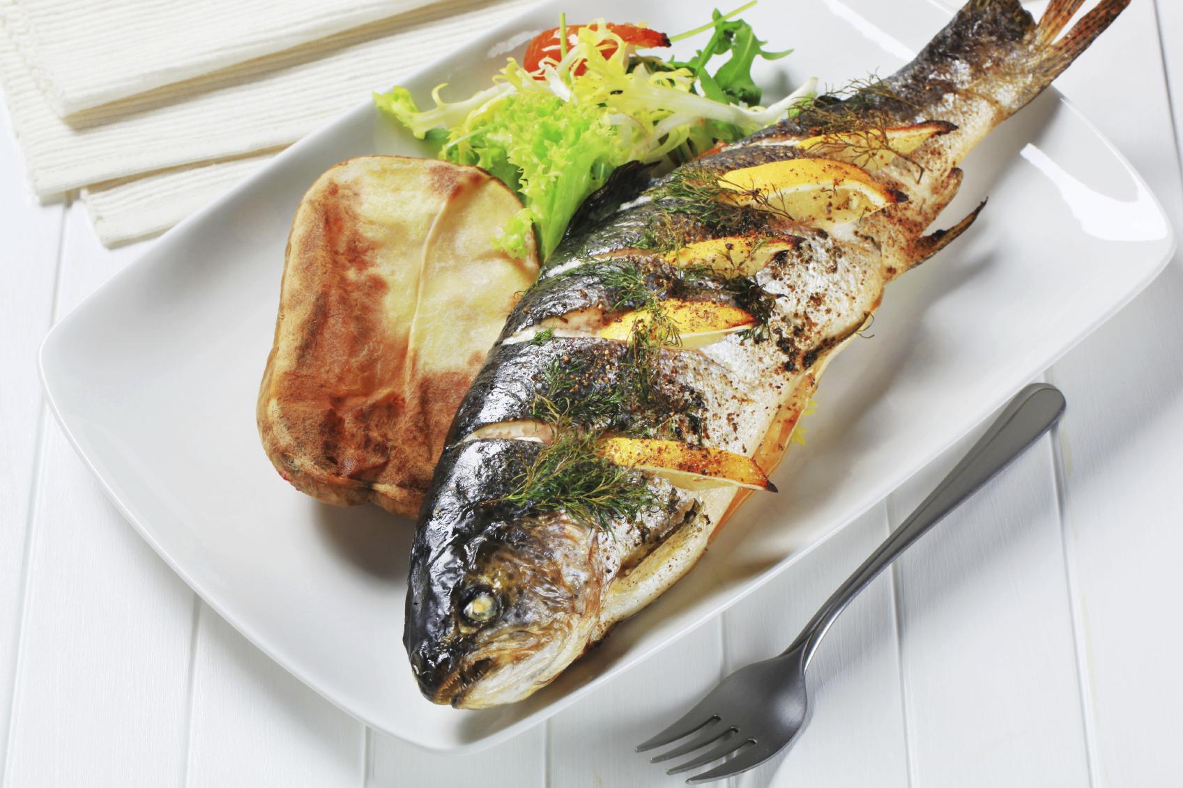 Gravide fravælger fisk