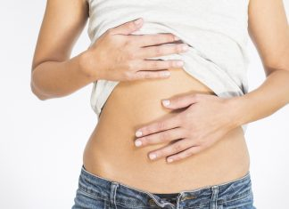 fed kvinde ømme bryster menstruation