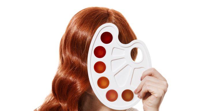 Må man gerne farve hår når man ammer delvist?